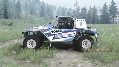 Toyota Land Cruiser Serigala Militia для Spintires MudRunner