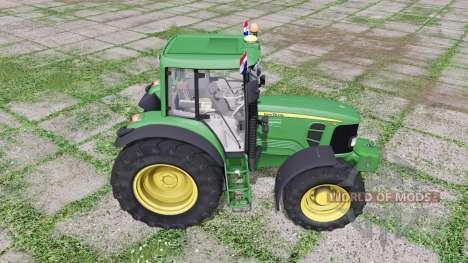 John Deere 7130 для Farming Simulator 2017