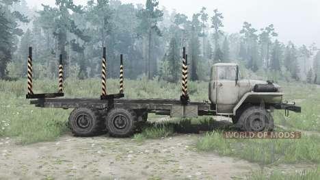 Урал 375Д удлинённая рама для Spintires MudRunner
