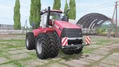 Case IH Steiger 370 twin wheels для Farming Simulator 2017