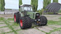 Fendt Farmer 312 LSA Turbomatik double wheels для Farming Simulator 2017