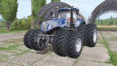 New Holland T8.380 Blue Power v2.0 для Farming Simulator 2017