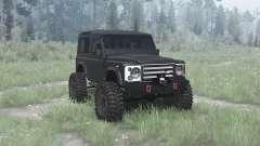 Land Rover Defender 90 TD5 Station Wagon для MudRunner