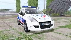 Renault Scenic (JZ) 2009 Police National
