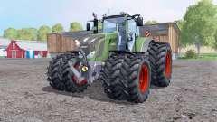Fendt 828 Vario twin wheеls для Farming Simulator 2015