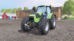 Deutz-Fahr Agrotron 7250 TTV front loadеr для Farming Simulator 2015