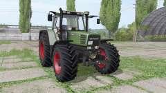 Fendt Favorit 515C Turbomatic Continental для Farming Simulator 2017