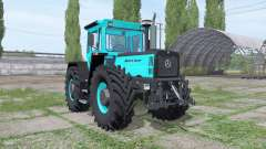 Mercedes-Benz Trac 1800 Intercooler turquoise для Farming Simulator 2017