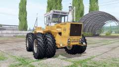 RABA-Steiger 250 twin wheels для Farming Simulator 2017
