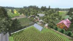 Srednia Wies v7.0 для Farming Simulator 2017