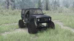 Suzuki Samurai crawler для MudRunner