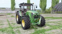 John Deere 5085M loader mounting для Farming Simulator 2017