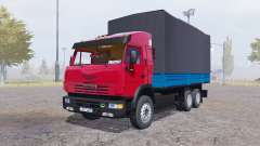 КАМАЗ 65117 2006 v2.0 для Farming Simulator 2013
