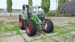 Fendt 720 Vario wide tyre для Farming Simulator 2017