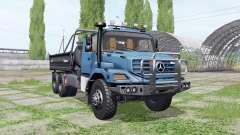 Mercedes-Benz Zetros 3643 A Farmtech v3.0 для Farming Simulator 2017