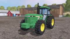 John Deere 4850 weight для Farming Simulator 2015