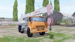 КАМАЗ 65222 автокран Челябинец для Farming Simulator 2017