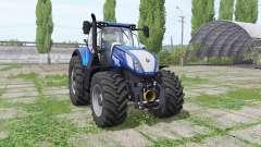New Holland T7.315 HD Blue Power для Farming Simulator 2017