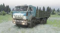 КамАЗ 5320 6x6 для Spin Tires