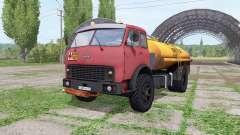 МАЗ 500 топливозаправщик v2.2 для Farming Simulator 2017