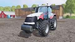 Case IH Magnum 340 CVX Silver Edition для Farming Simulator 2015