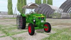 Deutz D 40S 4WD для Farming Simulator 2017