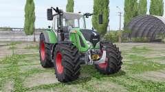 Fendt 724 Vario wide tyrе для Farming Simulator 2017