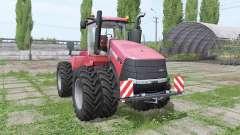 Case IH Steiger 370 double wheels для Farming Simulator 2017