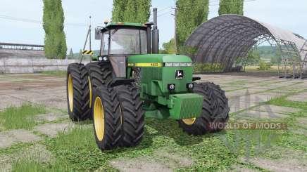 John Deere 4555 v4.0.0.1 для Farming Simulator 2017