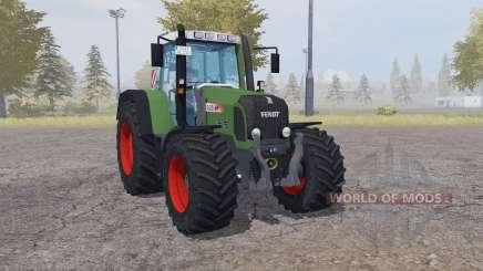 Fendt 820 Vario TMS front loader для Farming Simulator 2013