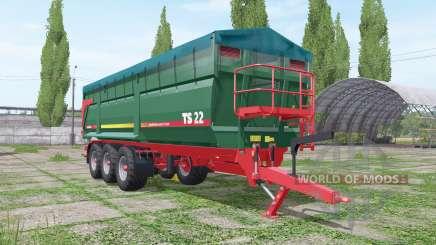 METALTECH TS 22 для Farming Simulator 2017