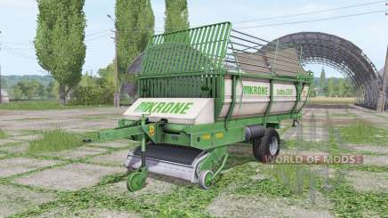 Krone Turbo 2500 v2.0 для Farming Simulator 2017