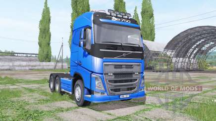 Volvo FH16 750 Globetrotter v1.2 для Farming Simulator 2017