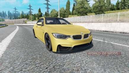 BMW M4 coupe (F82) v2.0 для Euro Truck Simulator 2