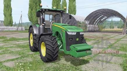 John Deere 8320R v3.5 для Farming Simulator 2017