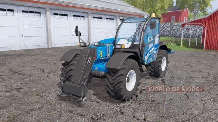New Holland LM 7.42 rear hydraulics для Farming Simulator 2015