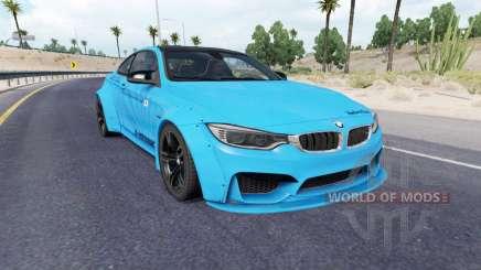 BMW M4 coupe (F82) v2.0 для American Truck Simulator