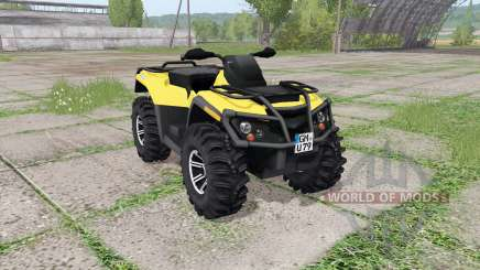 Can-Am Outlander 1000 XT v2.0 для Farming Simulator 2017