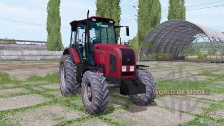 Беларус 2022.3 красный для Farming Simulator 2017