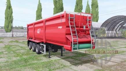 Krampe Bandit SB 30-60 rear hitch для Farming Simulator 2017