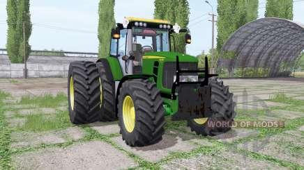 John Deere 6430 Premium v1.0.1 для Farming Simulator 2017