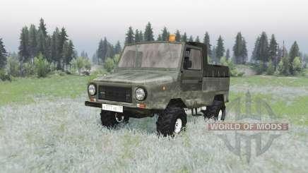 ЛуАЗ 2403 1987 для Spin Tires