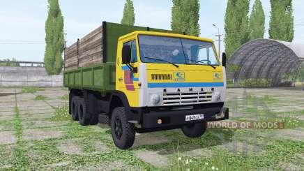 КамАЗ-55102 v1.1 для Farming Simulator 2017