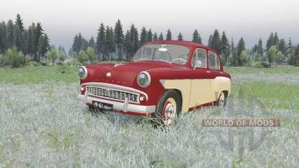 Москвич 407 1958 v2.0 для Spin Tires