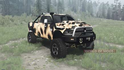 Dodge Ram 2500 Heavy Duty Crew Cab для MudRunner