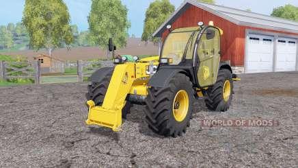 JCB 536-70 rear hydraulics для Farming Simulator 2015