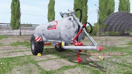 Vakutec VA 10500 для Farming Simulator 2017
