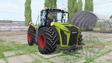 CLAAS Xerion 5000 Trac VC green для Farming Simulator 2017