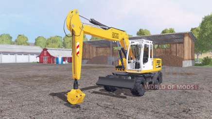 Liebherr A 900 Compact Litronic для Farming Simulator 2015