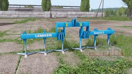 LEMKEN Dolomit 9-400 v2.4 для Farming Simulator 2017